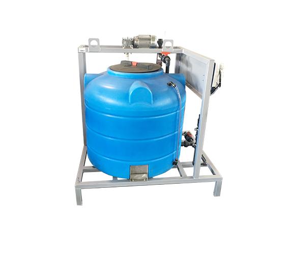 Установка приготовления идозирования реагентов (1 емкость)